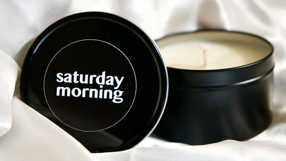 saturday morning candle