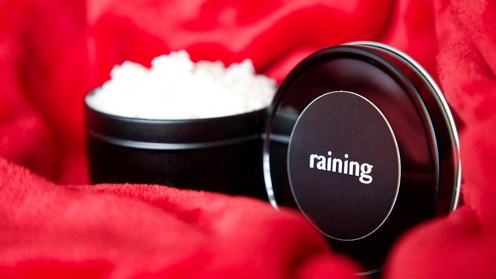 raining body scrub