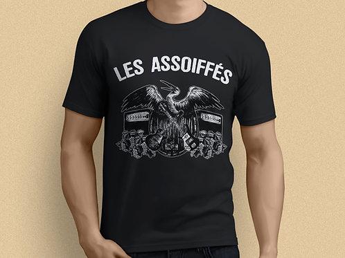 T-SHIRT NOIR HOMME - Logo Les Assoiffés