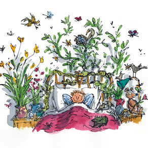 The Base to reopen with Quentin Blake and John Yeoman's exhibition of 50 Years of Children's Books