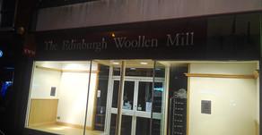 The Edinburgh Woollen Mill shuts
