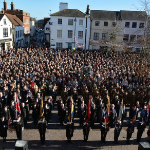 Newbury's Remembrance Parade