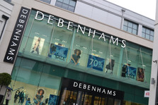 All Debenhams high street stores shut