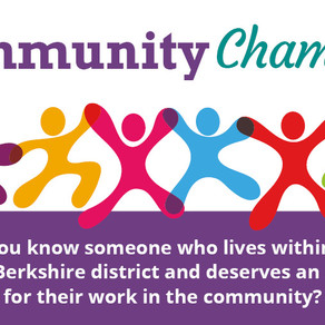 Community Champions 2020 Award nominations now open