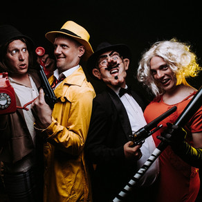 Crime comedy capers at the Corn Exchange