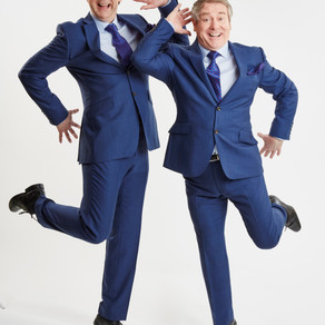 Eric and Ern bring sunshine to the Corn Exchange