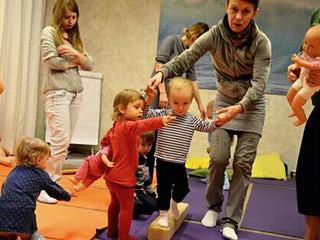 Новые классы по детской йоге и бейби-фитнесу!