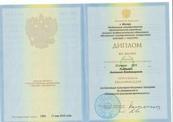 Диплом Антонины 20