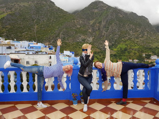 Фотоотчёт из йога-тура в Марокко