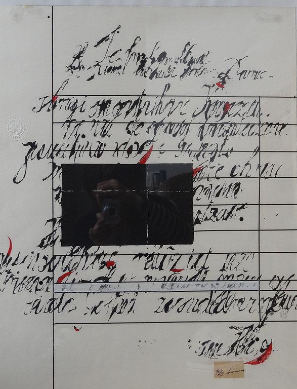 Cleeremans Ralph –  Abstrait – Technique mixte sur papier – 49x62cm .JPG
