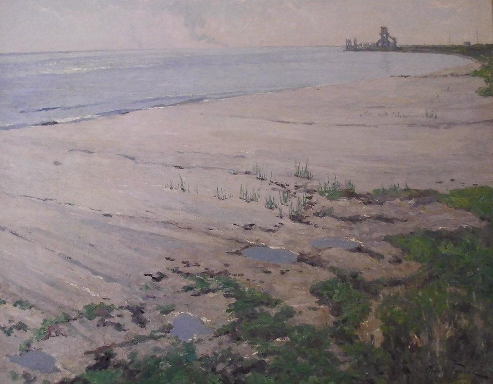 Poreau Oswald (1877-1955) - école belge - huile sur toile - 100x81cm - daté 1930.jpg