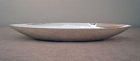 Coupe allongée - métal argenté - orfèvre français Chrstofle - création Sabattini.jpg