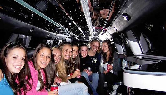 Kids in a Limo for Last Day of School