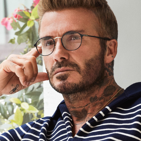 Eyewear by David Beckham - effortless British style with a sharp focus on detail and functionality