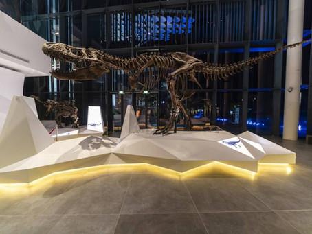 Estetiška apdaila iš HI-MACS® ambicingame muziejaus projekte Kuveite