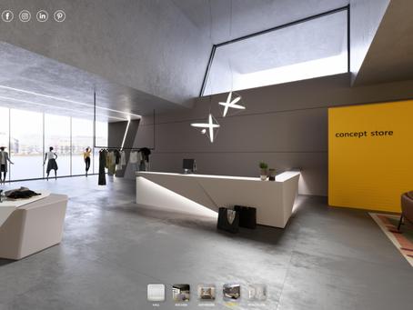 HI-MACS® pristato visiškai naują interaktyvų saloną virtualioje erdvėje