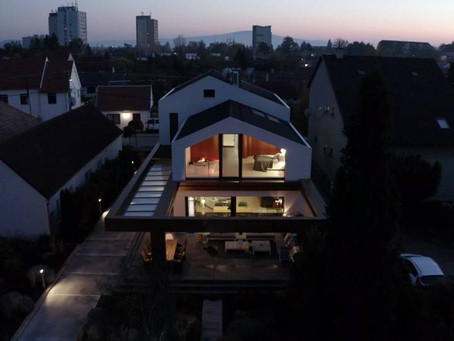Rafinuotas būsto interjeras Bratislavoje su HI-MACS®