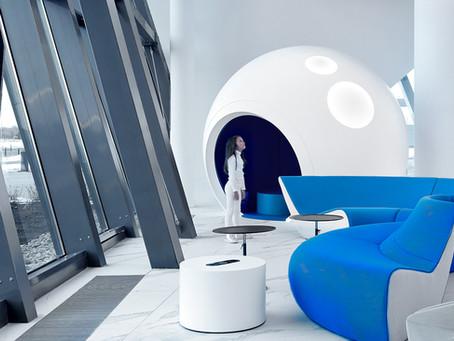 Tarptautinis Gagarino oro uostas – kosmoso platybių įkvėpti architektūriniai sprendimai