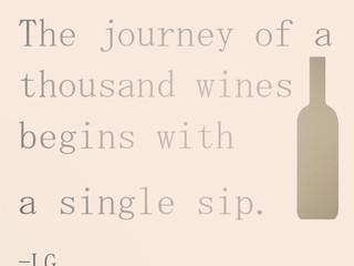 Wine Wednesday - Journey to Wine