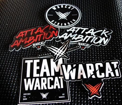 Team WARCAT Sticker Pack