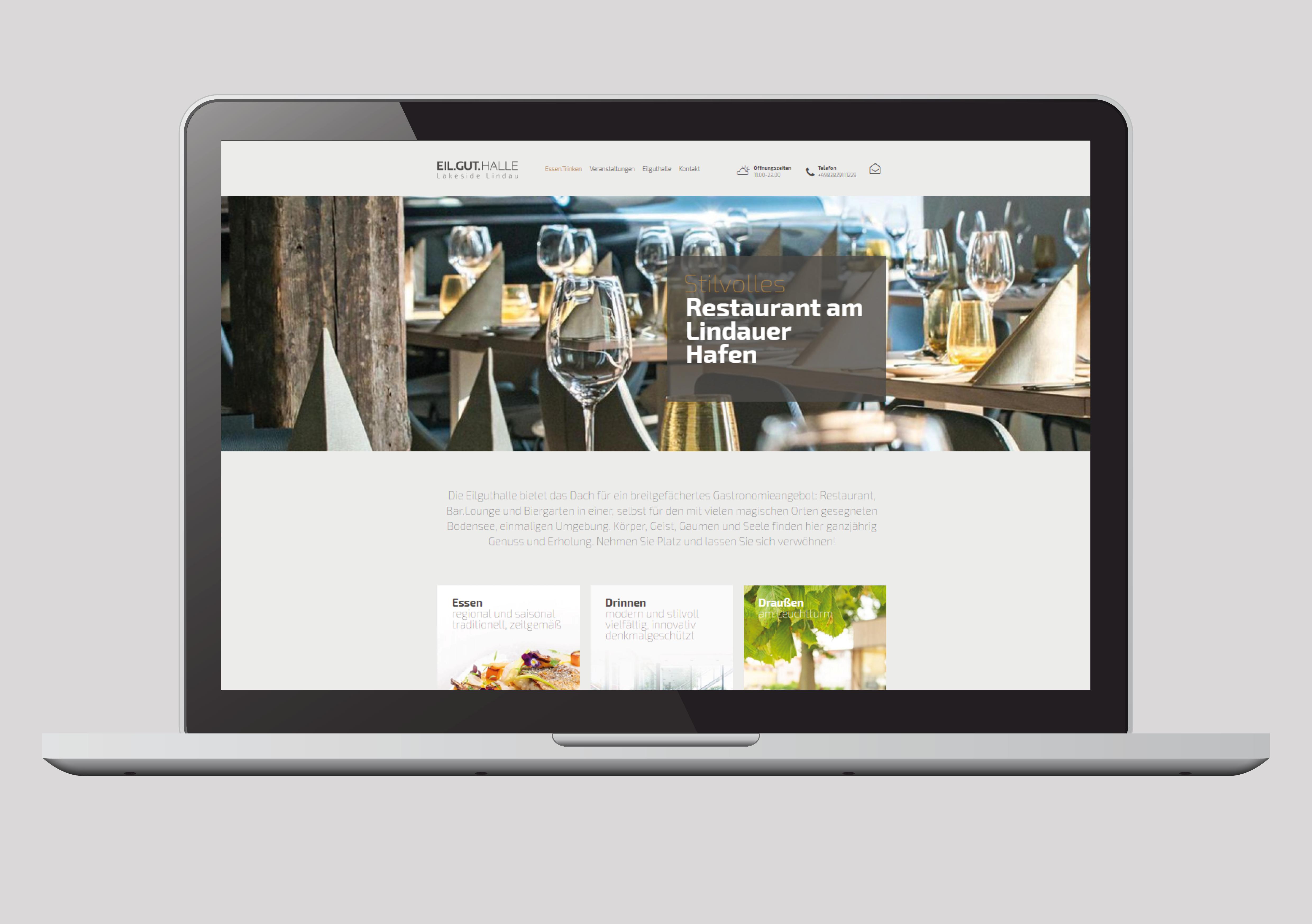 Referenz Eilguthalle Homepage
