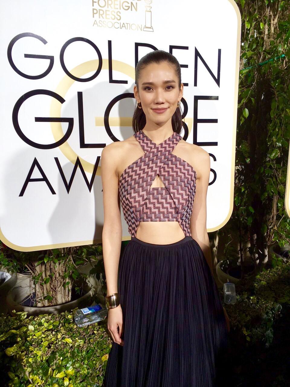 Tao Okamoto / Golden Globes 16