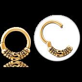 ANNEAU BALI GOLD 05