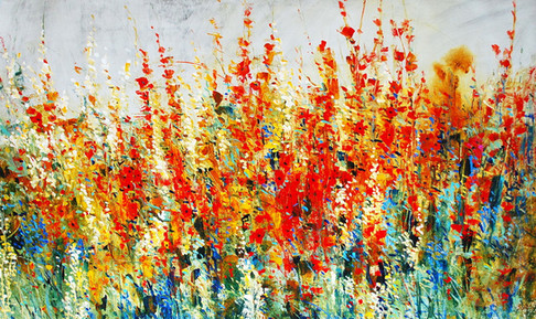 Impressionistic Wildflowers