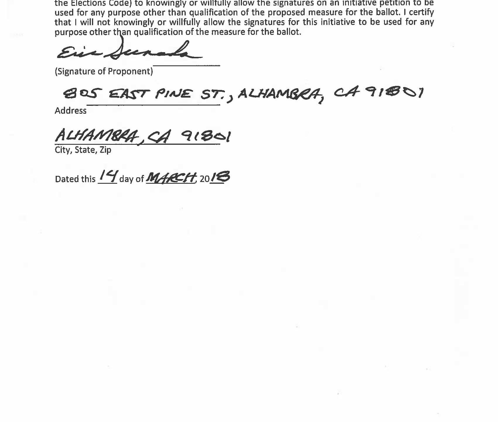Initiative paperwork stamped by city clerk-02