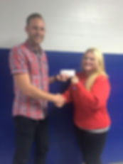 Cal Combs English Teacher Raises Money for Local School