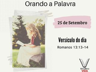 Orando a Palavra – 25 de Setembro