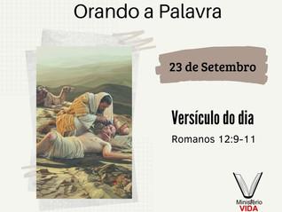 Orando a Palavra – 23 de Setembro