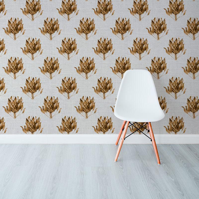 Protea King Sepia