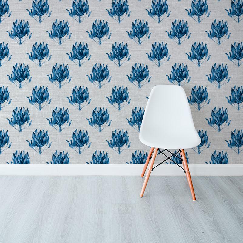 Protea King Blue