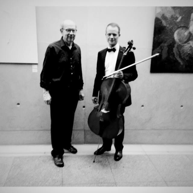 Hans-Werner Stahl Vernissage, Rainer Gleim Cello, Börse Stuttgart