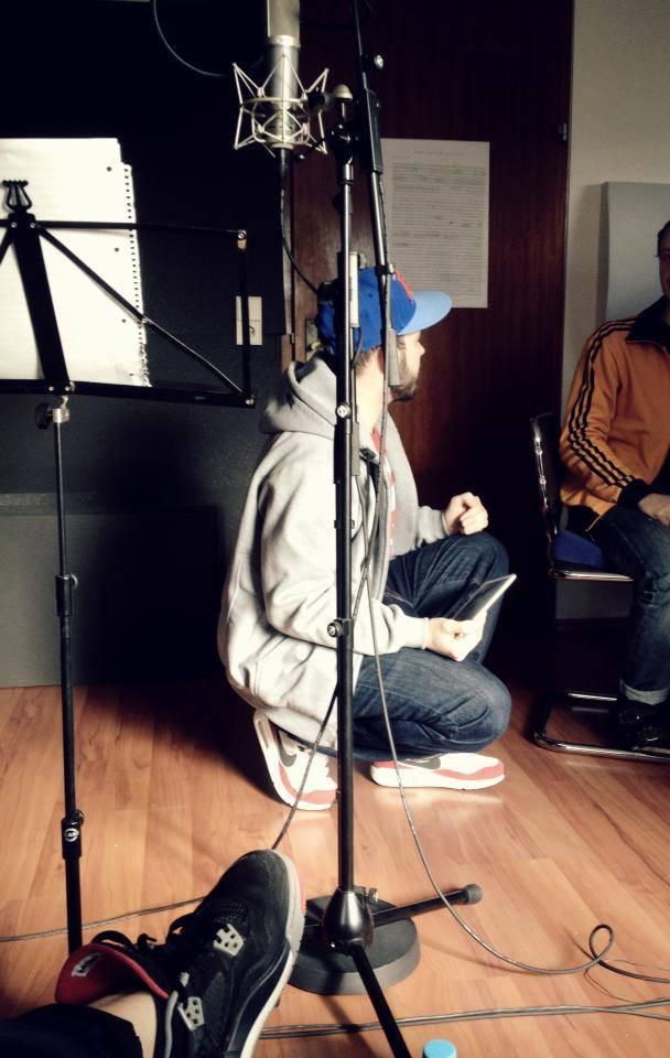 GOLDPAKK und RAKI im Studio