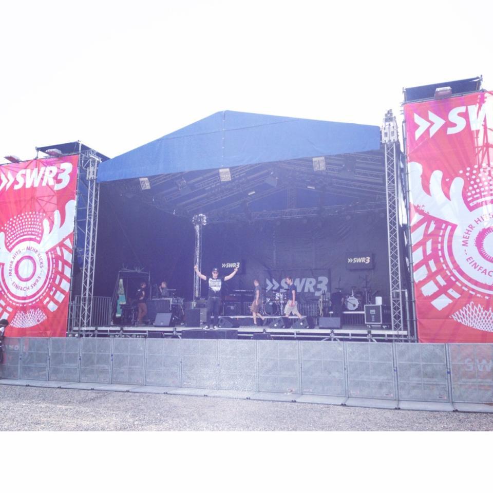 Yep, große Bühne des SWR.... nice!