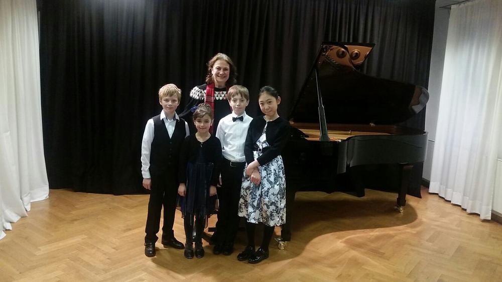 Konzert bei STEINWAY & SONS in Stuttgart, Gleim Musik