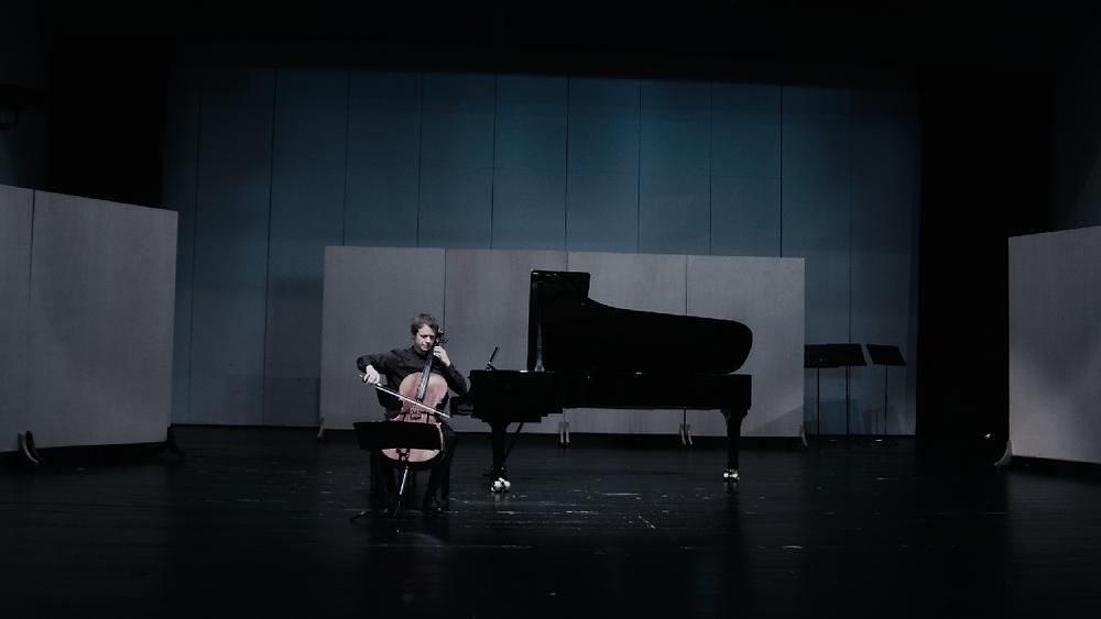 Vortragsabend in der Musikhochschule Trossingen, Rainer Gleim, Violoncello