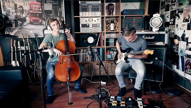 Cello+E-Gitarre