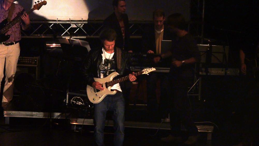 TEB Allstars Rainer Gleim E-Gitarre