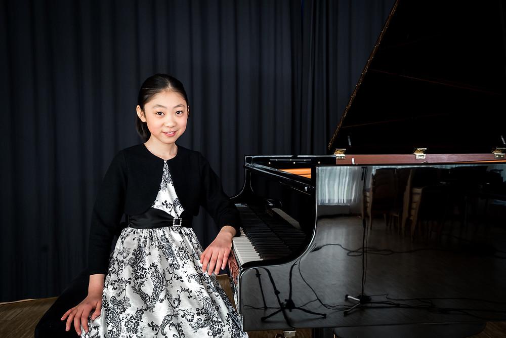 Hanming Deng, Klavier