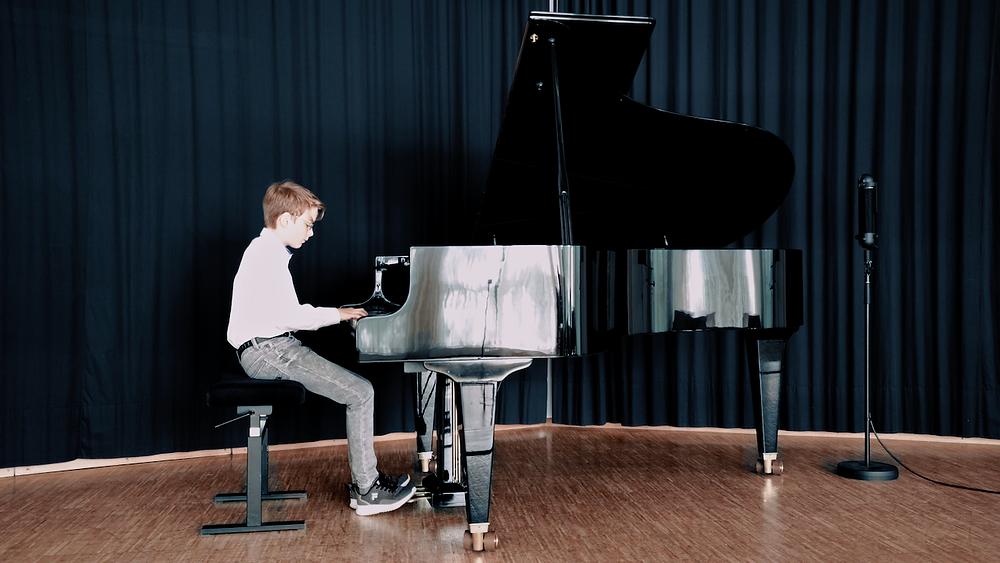 Klassikaufnahme Klavier