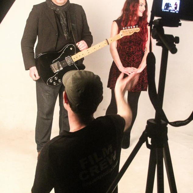 The Blackheart Orchestra 'The Sky and I' music video with Chrissy and Rick.
