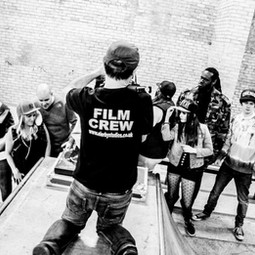 BTS of music video 'Boom' in 2016.