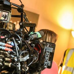 Filming short film 'Gone'