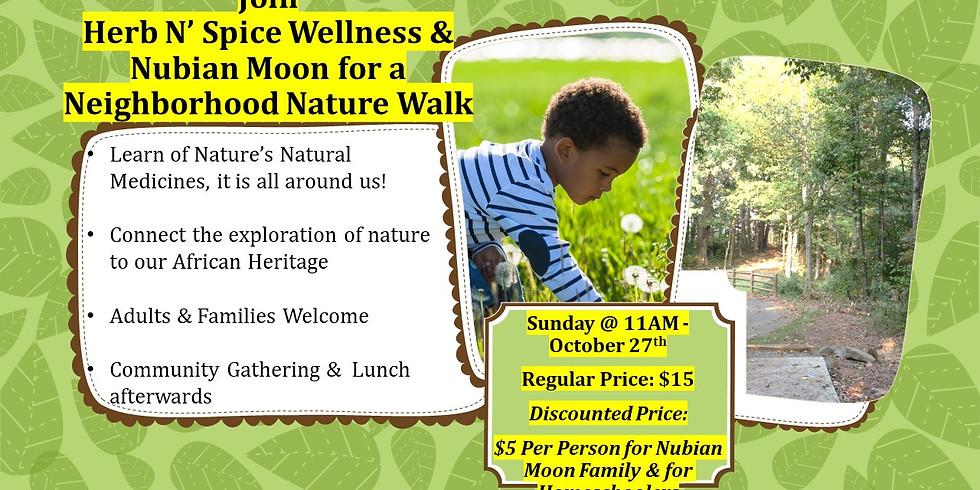 Neighborhood Nature Walk