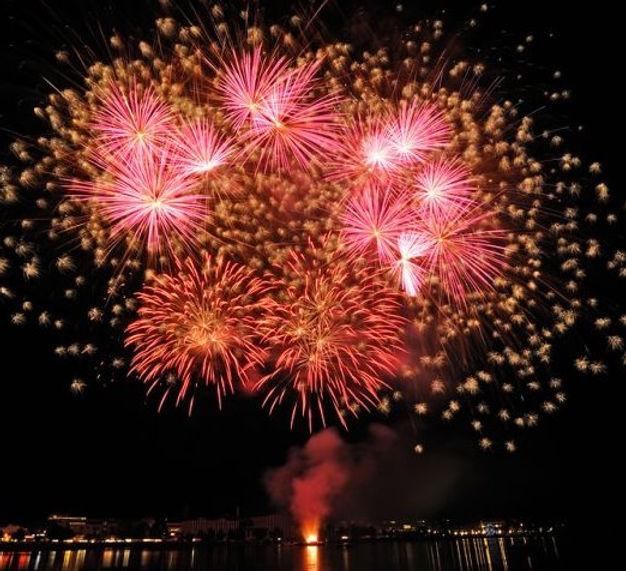 Festfyrværkeri afskudt af DPA Fireworks