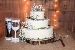 Wedding cake at The Storehouse
