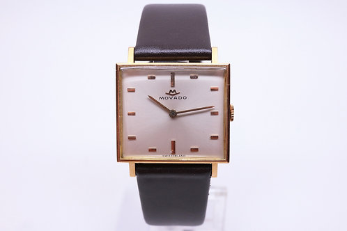 Movado Square in  Gold